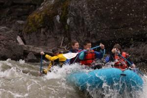 Blackfoot river rafting