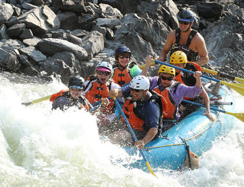 Missoula Rafting in August