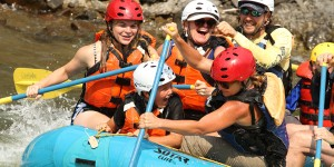 Blackfoot River rafting