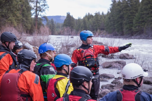 Raft Guide Training