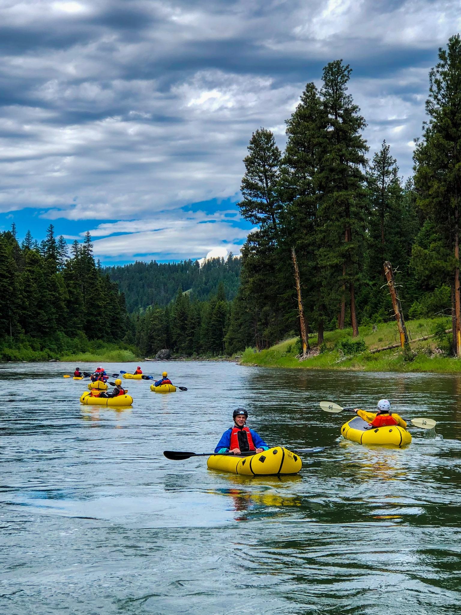 Missoula kayak trips